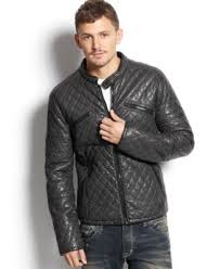 Rogue State Quilted Faux Leather Jacket - Coats & Jackets - Men ... & Rogue State Quilted Faux Leather Jacket Adamdwight.com