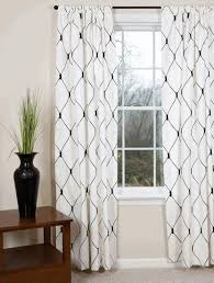 Beautiful Black And White Curtains Contempo Tons Of Cute With Decor