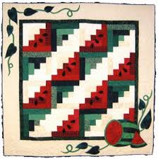 43 best WATERMELON QUILTS images on Pinterest | DIY, Crafts and ... & watermelon table runner pattern | Watermelon Patch Adamdwight.com