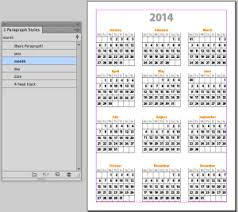 Calendar 2013 Template Its Indesign Calendar Template Time Indesignsecrets Com