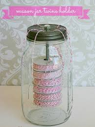 Mason Jars Decorated With Twine 100 Awesome DIY Mason Jar Crafts Twine Mason jar crafts and Jar 48