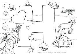 Alphabet Colouring In Coloring Pages Animal Alphabet Coloring Pages