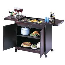 ... Buy Hostess Trolley, HL6232, Mahogany Online at johnlewis.com