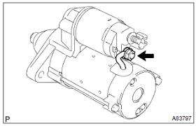Toyota Corolla Repair Manual: Overhaul - Starter assy (1zz–fe ...