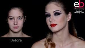 eb makeup academy cat look tutorial by emese backai