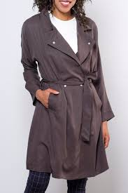 very j victoria trench coat front cropped image