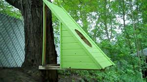 Hanging Tree House A Brand New Micro Green Hanging Floating Cedar Treehouse