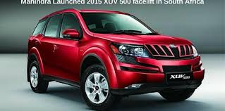 new car releases south africa 2015Mahindra Launched 2015 XUV 500 facelift in South Africa