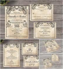 424 best free wedding invitation cards and elements for design Wedding Invitations Programs Free Download description set of 6 vintage templates for your perfect designs of victorian wedding invitations wedding invitation software free download