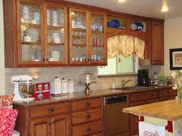 inspirational of how to decorate kitchen cabinets with glass doors
