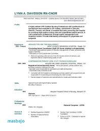 Registered Nurse Resume Unique Registered Nurse Resume Objective Statement Examples New Nurse