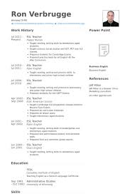 English Teacher Resumes English Teacher Resume Examples Examples Of