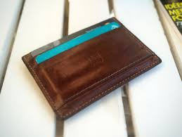 mens leather wallet after six months use this is how good it looks