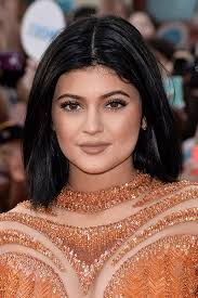 for hosting duties at the much video awards kylie went back to black but kept the