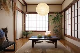 View in gallery Shoji screens, indoor plants and lantern lighting for the Asian  style dining room [Design
