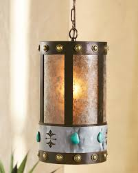 turquoise pendant lighting. Cute Western Kitchen Lighting Turquoise Stone Round Pendant Light 30