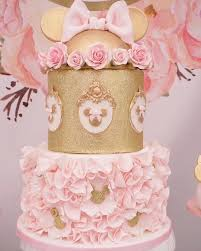 minnie mouse cake from a fl minnie mouse birthday party on kara s party ideas karaspartyideas