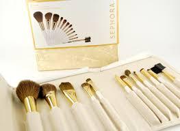 sephora gold star prestige pro brush set