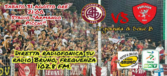 Livorno - Perugia, ovviamente in diretta su Radio Bruno ...