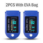 <b>2PCS Digital Finger</b> Oximeter Portable Electronic LED Display ...