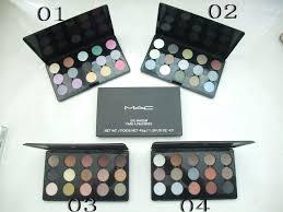 mac eyeshadow palette 15 colors pro matte eyes makeup uk