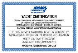 amp; Tags Capacity Plates Yachts