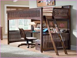 Image of: Loft Bed with Desk Underneath Pros