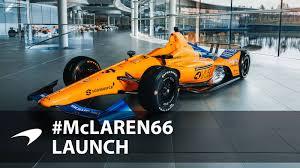 Indy 500 Car Design Mclaren Racing Mclaren Racing Unveils Indy 500 Livery