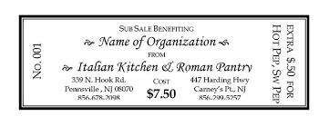 Fundraising Italian Kitchen