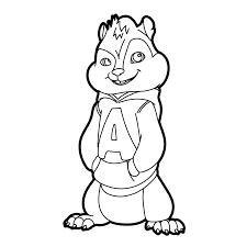 Alvin The Chipmunks Roadchip Kleurplaten Kleurplatenpaginanl