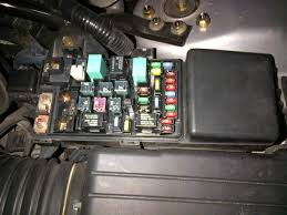 one headlight fuses and bulbs okay honda tech i ve attached pics of the cabin fusebox near the driver s left kick panel and the underhood fusebox anyone know where to these buggers