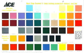 Ace Spray Paint Color Chart Rustoleum Outdoor Spray Paint Moneychange