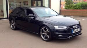 audi a4 2014 black. Interesting Black 2014 Audi A4 30 TDI Quattro S Line Black E Automatic Diesel Estate On