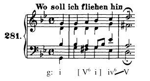 Bach Chord Progression Chart Music 110 Fundamentals Of Theory