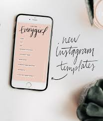 The Everygirl's Instagram Story Templates – The Everygirl with ...