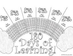 180 Days Of School Chart Pin On Attendance