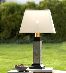 battery operated lamp outdoor slate table lamp with removable battery operated torch regard to powered lights prepare 6 battery operated victorian lamp post