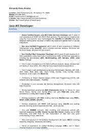 J2ee Analyst Resume Sle Resume For Qa Tester Analyst Manual Best