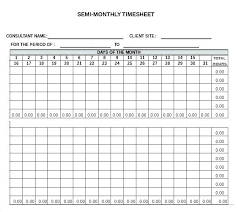 semi monthly timesheet template semi monthly template excel free download overtime weekly
