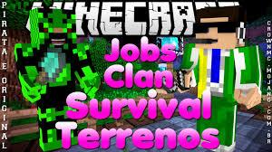 divulgação de server minecraft 1 7 clan jobs survival e terrenos divulgação de server minecraft 1 7 clan jobs survival e terrenos ep 87