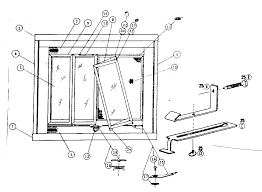 modern style fireplace door glass replacement replacement parts diagram and parts list for kenmore fireplace