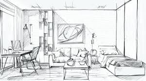 Interior Design Sketching Interior Design Sketches Magnificent Best