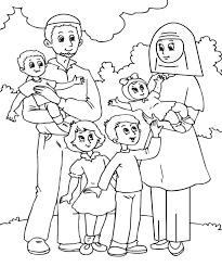 Small Picture Simple Family Coloring Pages Family Coloring Pages Image 5