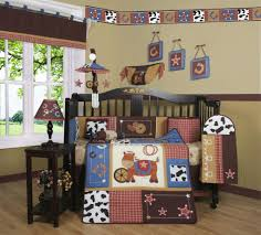 western crib bedding