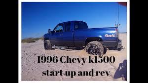 1996 Chevy Silverado k1500 5.7l start up and rev - YouTube