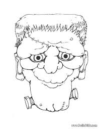 Small Picture Coloring Pages Halloween Monsters Coloring Pages Creatures To