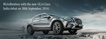 new car launches september 2014 indiaMercedes GLA launching in India on September 30