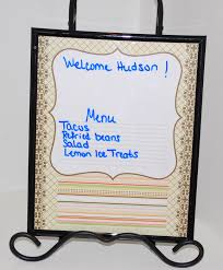 Diy Dry Erase Picture Frame Renee Robinson