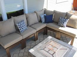 wood outdoor sectional. Diy Outdoor Sectional Sofa With DIY Wood .