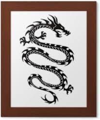 Tribal Tetování Drak